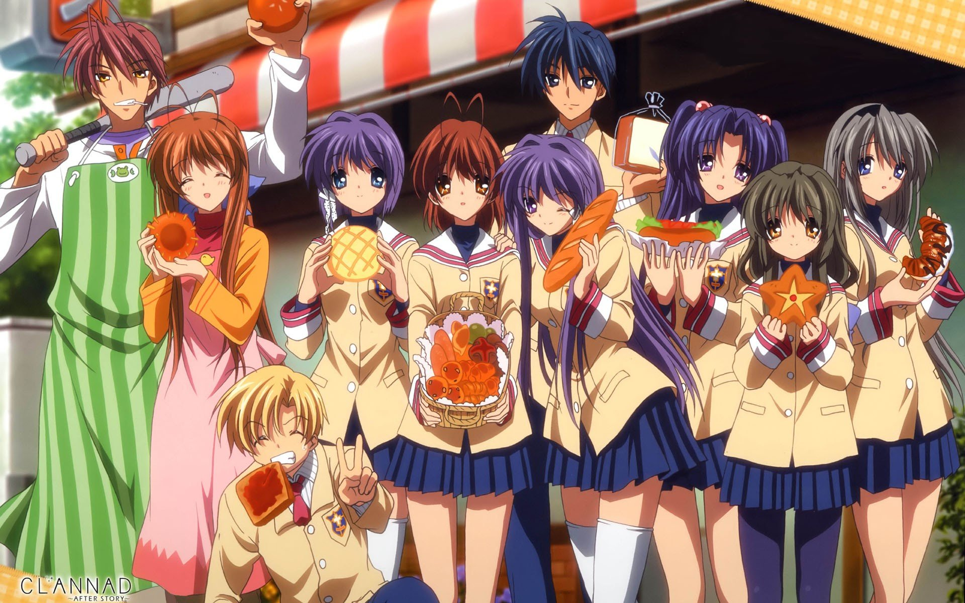 Clannad Tomoya Okazaki Sakagami Tomoyo Nagisa Furukawa Hd Wallpapers Desktop And Mobile Images Photos