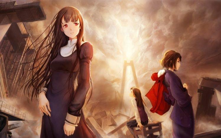 Kara no Kyoukai, Ryougi Shiki, Traditional clothing, Anime girls HD Wallpaper Desktop Background