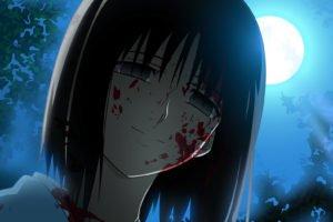 Kara no Kyoukai, Ryougi Shiki, Blood