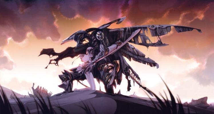 artwork, Fantasy art, Concept art, Mech, Robot HD Wallpaper Desktop Background