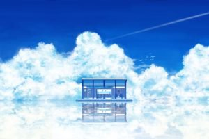 clouds, Bus stations