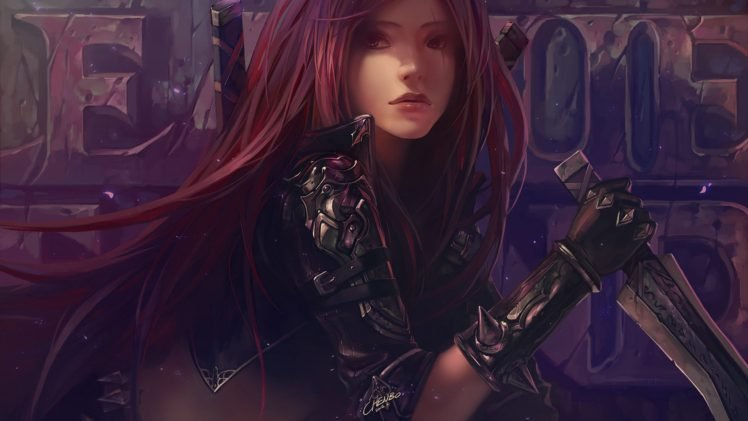 League of Legends, Katarina HD Wallpaper Desktop Background