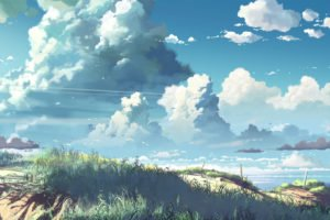 artwork, 5 Centimeters Per Second, Makoto Shinkai