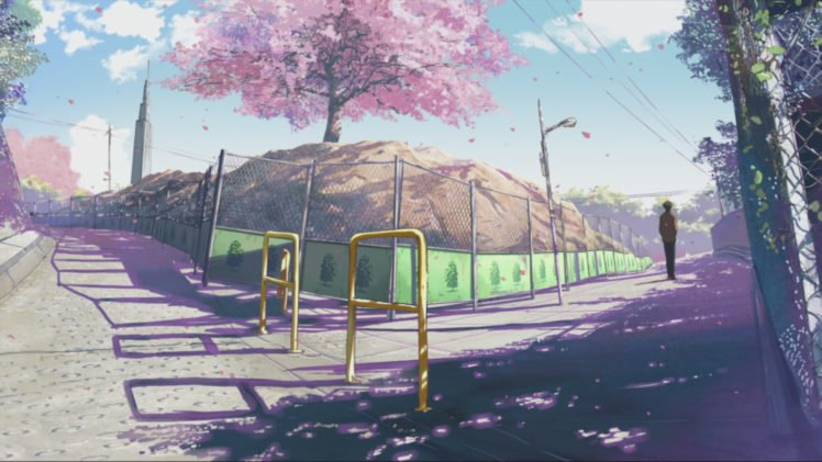 5 Centimeters Per Second, Makoto Shinkai HD Wallpaper Desktop Background