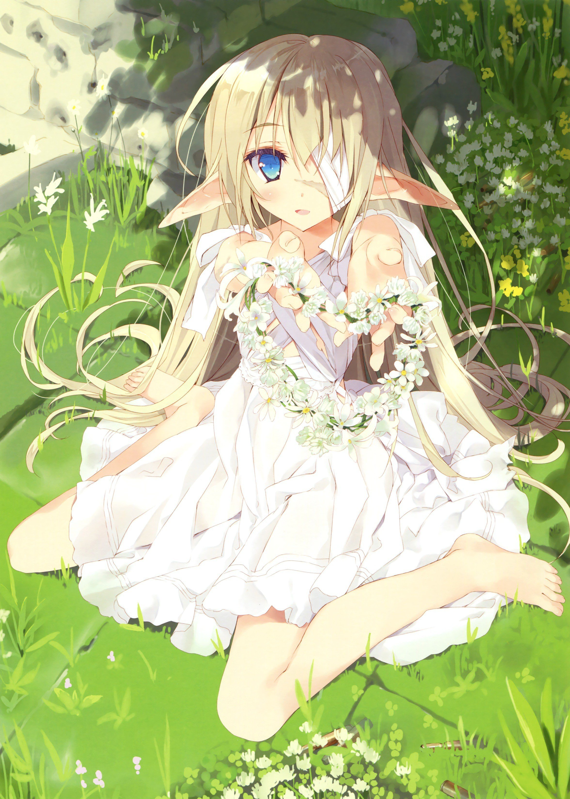 Anime Girl Elfe