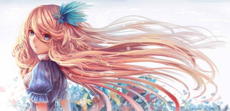 anime girls, Original characters HD Wallpaper Desktop Background