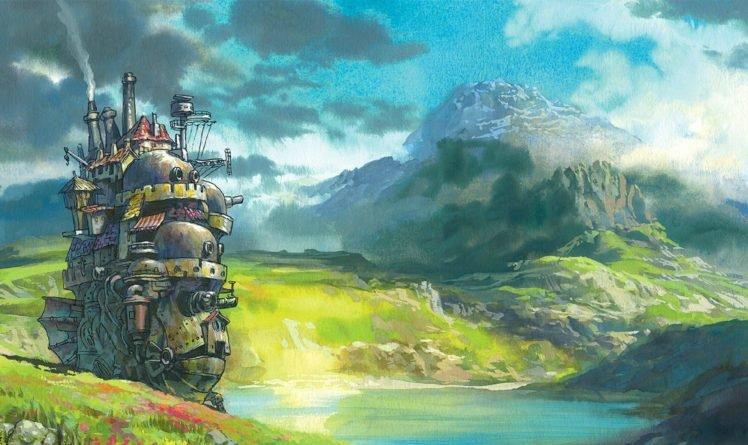 Studio Ghibli, Howls Moving Castle HD Wallpaper Desktop Background