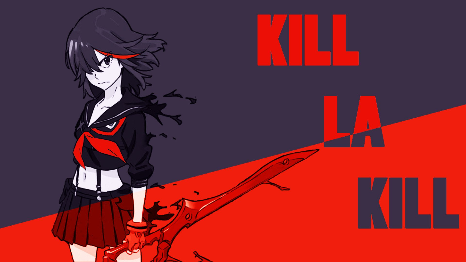Kill La Kill Matoi Ryuuko Hd Wallpapers Desktop And Mobile