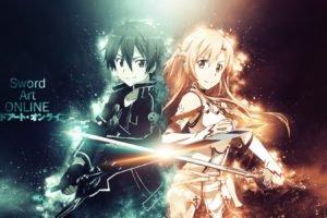 Sword Art Online, Yuuki Asuna, Kirigaya Kazuto