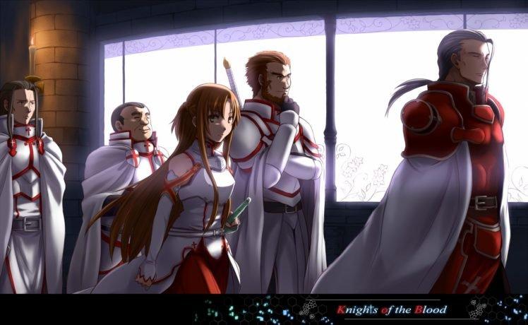 Sword Art Online, Yuuki Asuna, Kayaba Akihiko HD Wallpaper Desktop Background
