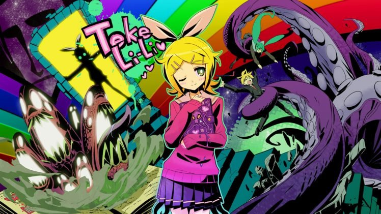 Anime Vocaloid Kagamine Rin Hd Wallpapers Desktop And Mobile