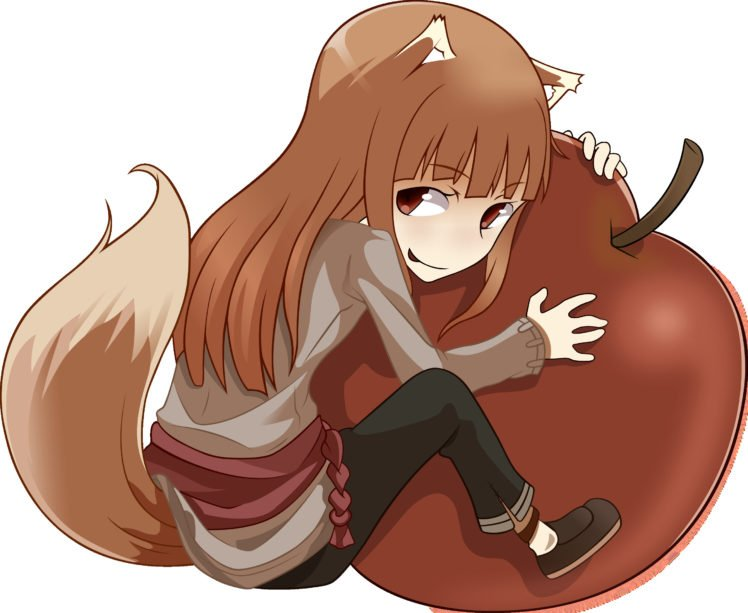 Spice and Wolf, Holo, Anime vectors HD Wallpaper Desktop Background