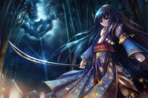 traditional clothing, Katana, Original characters