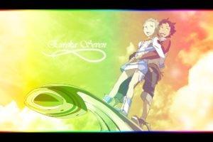 anime, Eureka Seven, Eureka (character), Thurston Renton