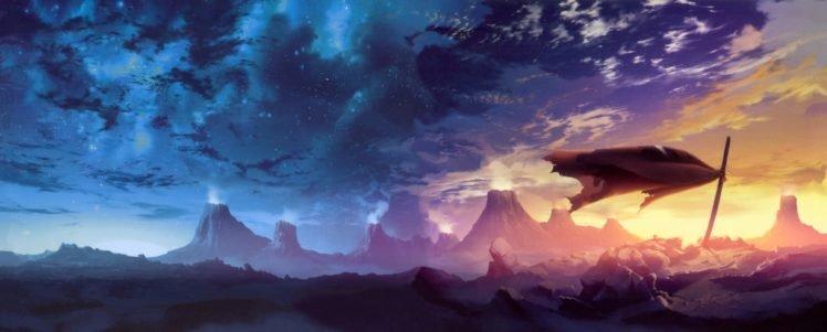 anime, Tengen Toppa Gurren Lagann, Artwork HD Wallpaper Desktop Background