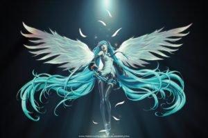 Hatsune Miku, Vocaloid, Wings