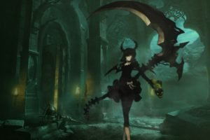 Black Rock Shooter, Anime girls, Anime, Dead Master
