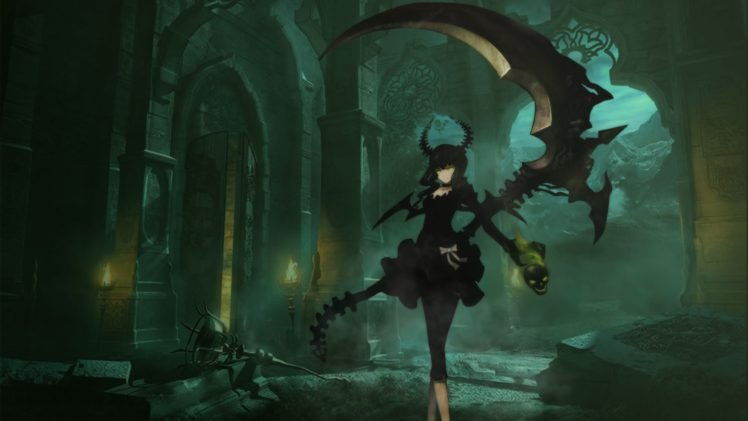 Black Rock Shooter Anime Girls Anime Dead Master Hd Wallpapers Desktop And Mobile Images Photos