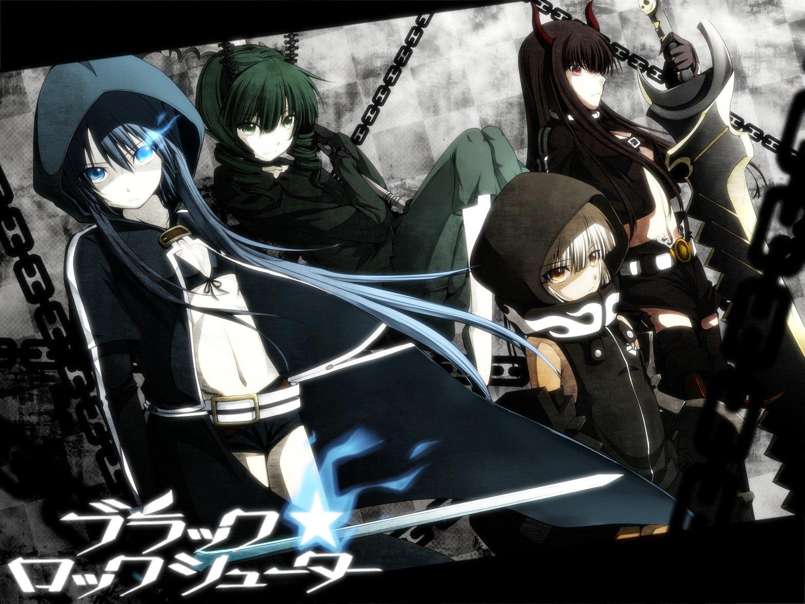Black Rock Shooter, Anime Girls, Anime, Dead Master, Black -7339