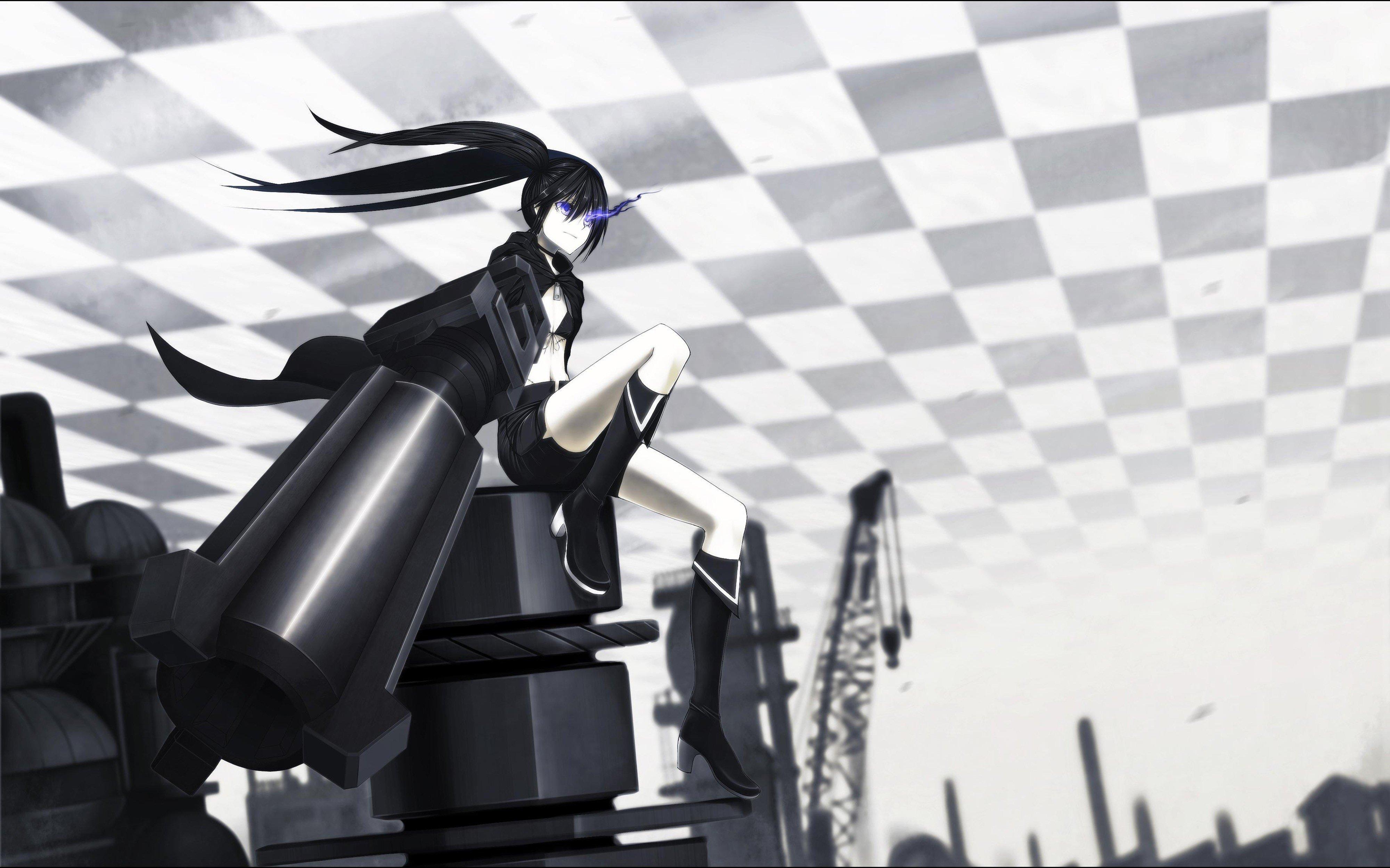 Black Rock Shooter, Anime girls, Anime, Strength (Black Rock Shooter) Wallpaper