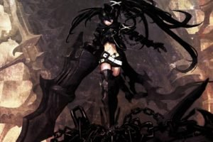Black Rock Shooter, Anime girls, Anime, Insane Black Rock Shooter