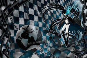 Black Rock Shooter, Anime girls, Anime, Strength (Black Rock Shooter)