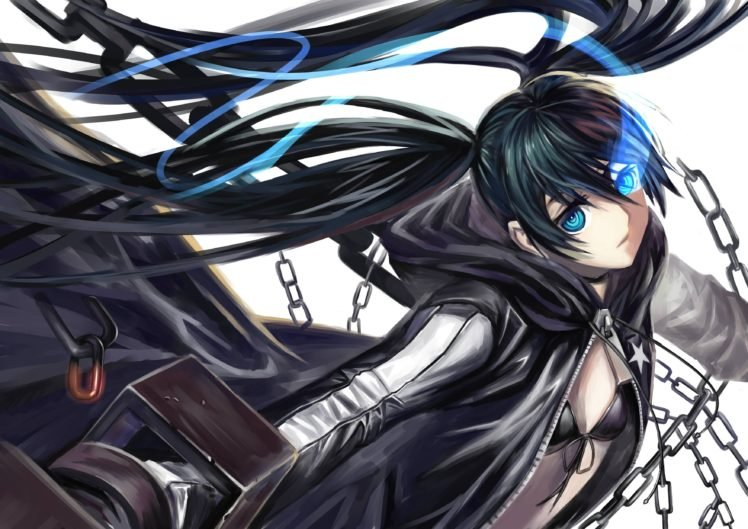 Black Rock Shooter, Anime girls, Anime, Strength (Black Rock Shooter) HD Wallpaper Desktop Background