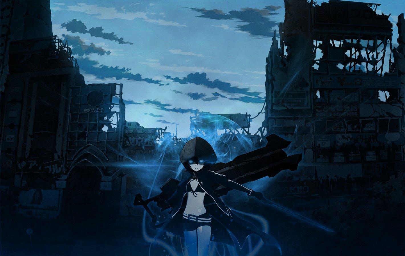Black Rock Shooter, Anime girls, Anime, Strength (Black ...