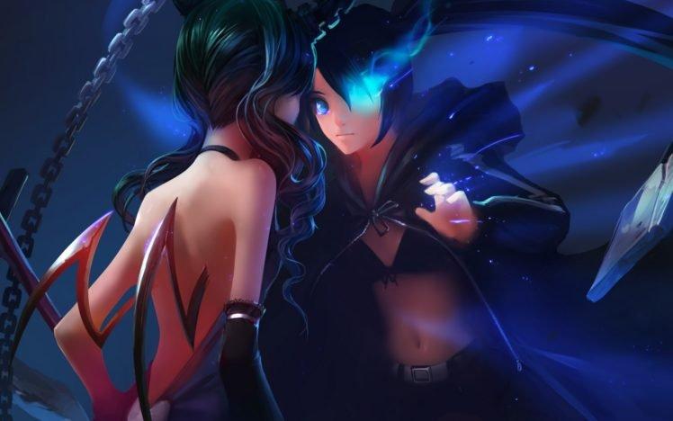 Black Rock Shooter, Anime girls, Anime, Dead Master, Strength (Black Rock Shooter) HD Wallpaper Desktop Background