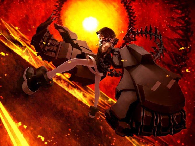 Black Rock Shooter, Anime girls, Anime HD Wallpaper Desktop Background