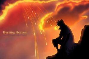 Naruto Shippuuden, Manga, Anime, Namikaze Minato, Silhouette