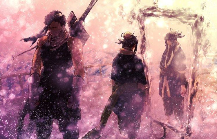 Naruto Shippuuden, Manga, Anime, Haku, Momochi Zabuza HD Wallpaper Desktop Background
