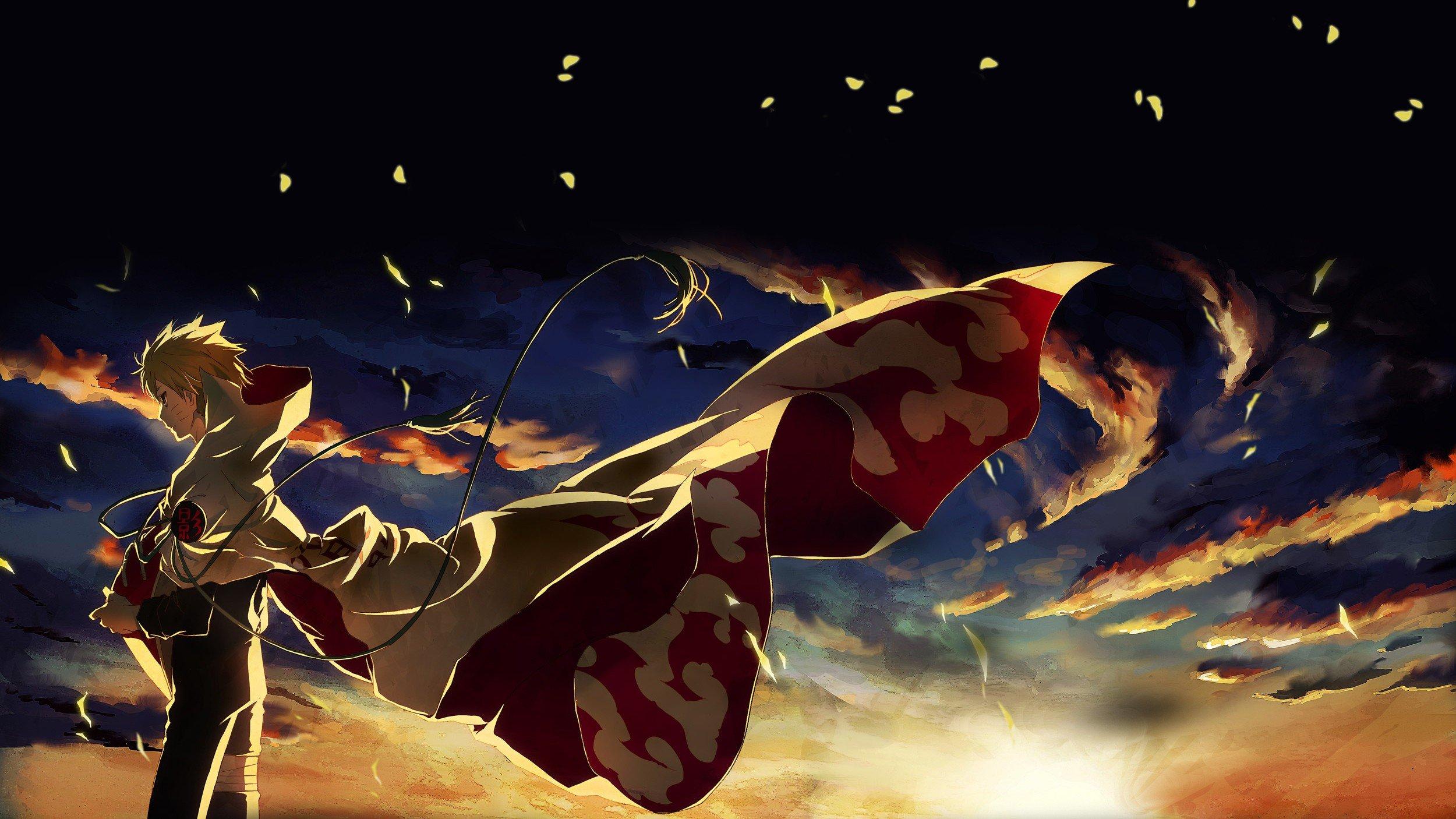 Naruto Shippuuden, Anime, Manga, Uzumaki Naruto, Hokage Wallpaper