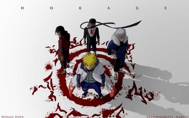 Naruto Shippuuden Anime Manga Namikaze Minato Hokage