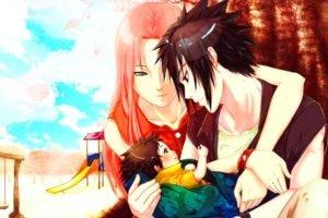Naruto Shippuuden, Manga, Anime, Uchiha Sasuke, Haruno Sakura