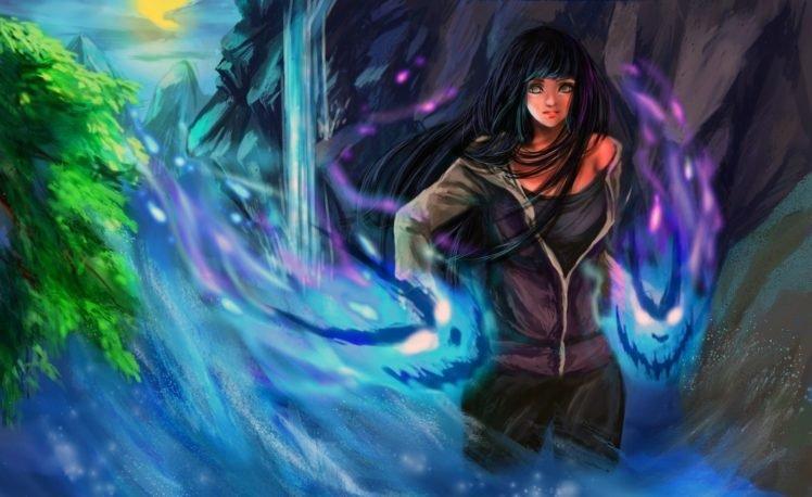 Naruto Shippuuden, Manga, Anime, Hyuuga Hinata HD Wallpaper Desktop Background