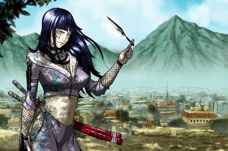 85423 Naruto Shippuuden manga anime Hyuuga Hinata