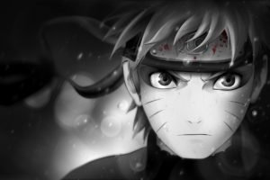 Naruto Shippuuden, Manga, Anime, Uzumaki Naruto, Selective coloring