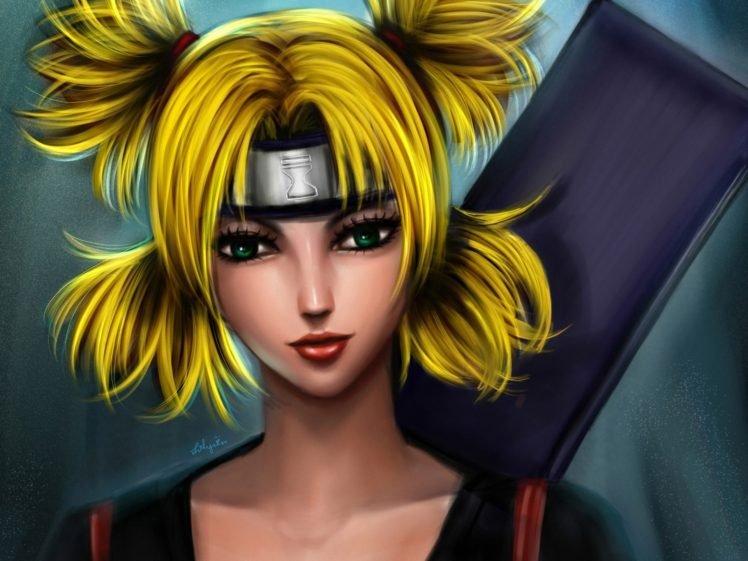 Naruto Shippuuden, Manga, Anime, Temari HD Wallpaper Desktop Background