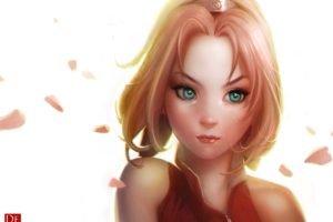 Naruto Shippuuden, Manga, Anime, Haruno Sakura, Anime girls
