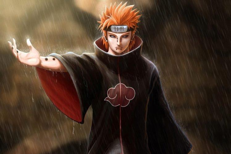 Naruto Shippuuden, Manga, Anime, Pein HD Wallpaper Desktop Background