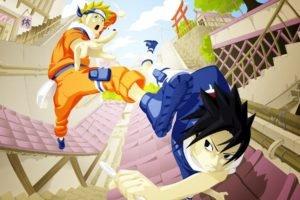 Naruto Shippuuden, Manga, Anime, Uzumaki Naruto, Uchiha Sasuke