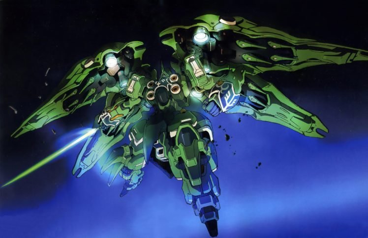 Gundam, Mobile Suit Gundam Unicorn, Kshatriya HD Wallpapers