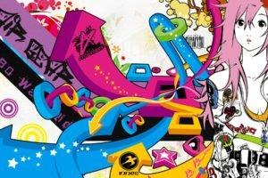 colorful, Huge, Air Gear, Sumeragi Kururu