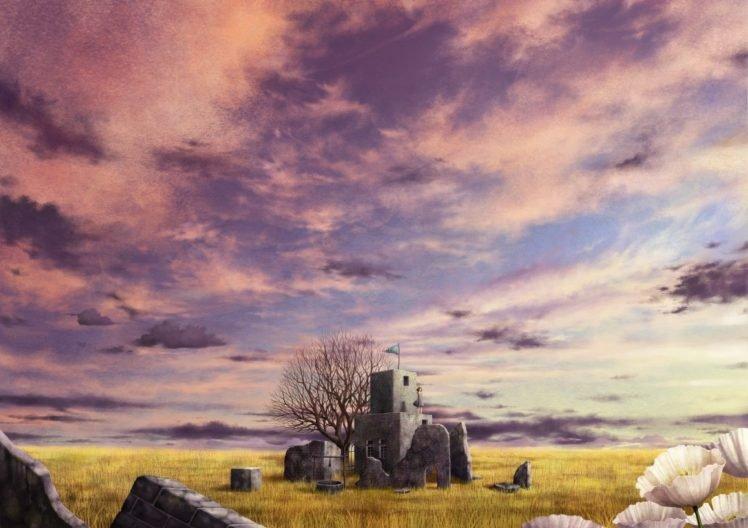 anime, Sky HD Wallpaper Desktop Background