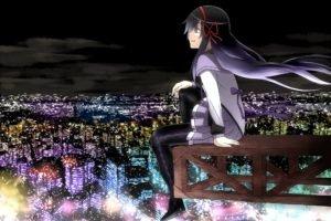 anime, Akemi Homura, Mahou Shoujo Madoka Magica