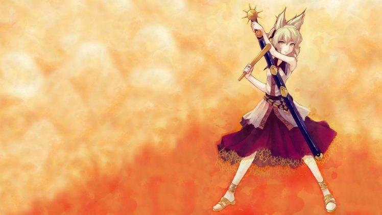 anime, Anime girls, Touhou, Toyosatomimi no Miko HD Wallpaper Desktop Background