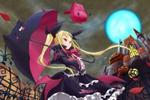 manga, Anime, Anime girls, Halloween, Blazblue