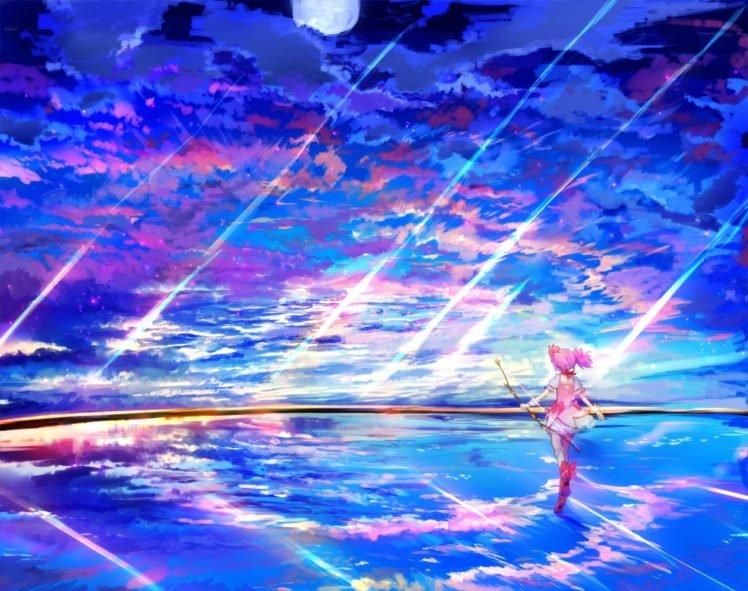 anime, Mahou Shoujo Madoka Magica, Kaname Madoka HD Wallpaper Desktop Background