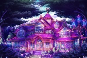 anime, Mansions